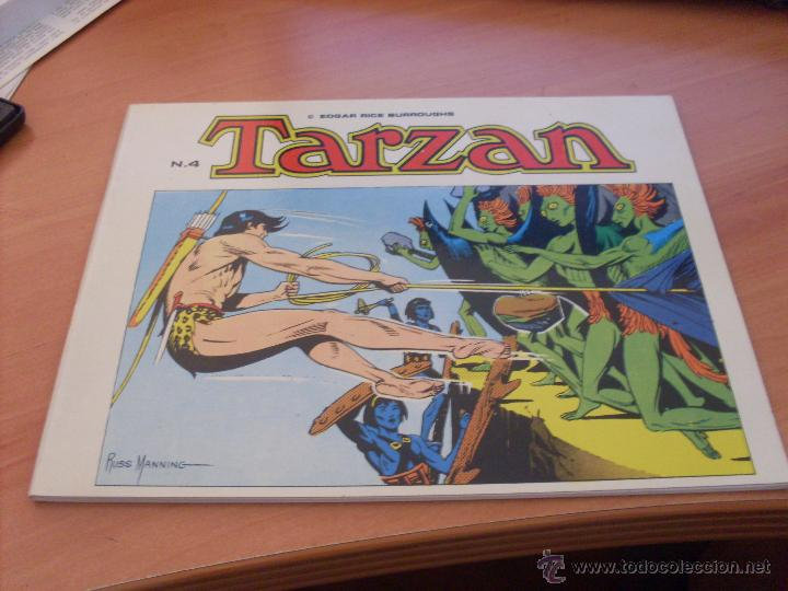 Tebeos: TARZAN LOTE COLECCION COMPLETA . EDGAR RICE BURROUGHS (ED. B.O.) (CLA6) - Foto 9 - 44441487