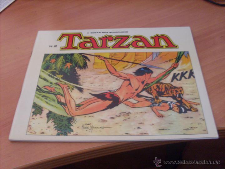 Tebeos: TARZAN LOTE COLECCION COMPLETA . EDGAR RICE BURROUGHS (ED. B.O.) (CLA6) - Foto 11 - 44441487