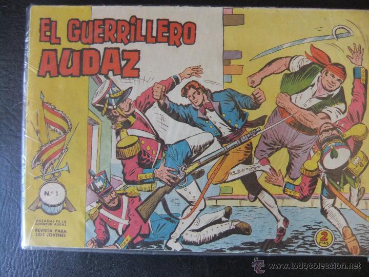 EL GUERRILLERO AUDAZ COLECCION COMPLETA EDITORIAL VALENCIANA (Tebeos y Comics - Tebeos Colecciones y Lotes Avanzados)