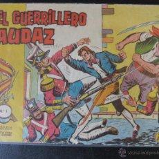 Tebeos: EL GUERRILLERO AUDAZ COLECCION COMPLETA EDITORIAL VALENCIANA. Lote 44461590