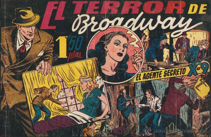 AGENTE SECRETO X-9 COMPLETA FALTA DEL Nº 13 SE VENDEN SUELTOS EST 4 (Tebeos y Comics - Tebeos Colecciones y Lotes Avanzados)