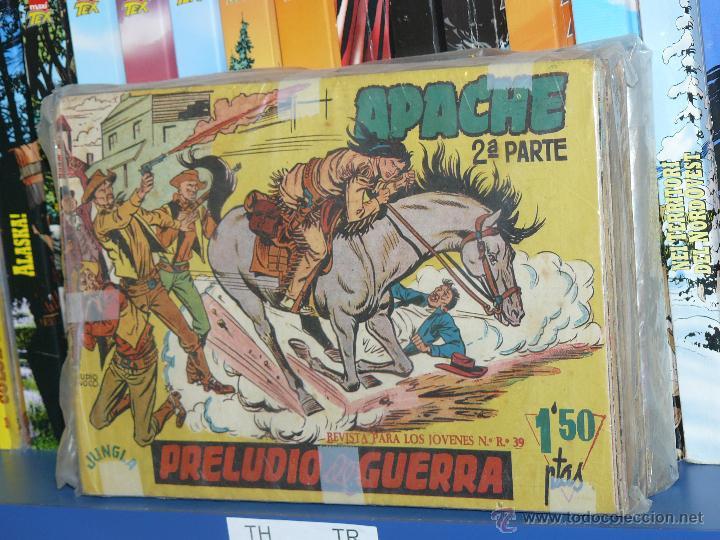 TEBEOS-COMICS GOYO - APACHE - 2ª SERIE - COMPLETA - CLAUDIO TINOCO **BB99 (Tebeos y Comics - Tebeos Colecciones y Lotes Avanzados)