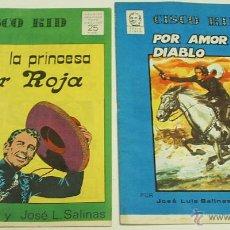 Tebeos: CISCO KID COMPLETA EN SUS 2 NOS. DE SALINAS Y ROD REED-GRAFIMAR CHITO 1975 IMPORTANTE LEER ENVIOS. Lote 44712726