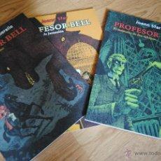 Tebeos: EL PROFESOR BELL. DE JOANN SFAR . COLECCION COMPLETA 3 ALBUMS. ED. SIN SENTIDO. Lote 45334248