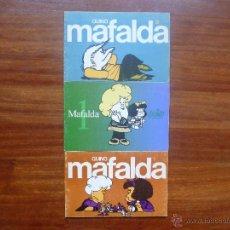 Tebeos: MAFALDA LUMEN NÚMEROS 0 Y 1 EDICIÓN 1985 MÁS REGALO . Lote 45369989