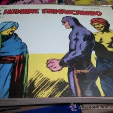 Tebeos: EL HOMBRE ENMASCARADO COLECCION COMPLETA 6 TOMITOS EDICIONES BO 1981. Lote 45417899