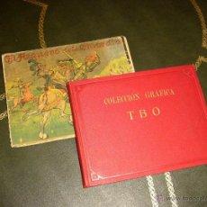 Tebeos: COLECCION GRAFICA TBO (BUIGAS - 1919). ¡¡ AUTENTICOS INCUNABLES !!. Lote 45669084