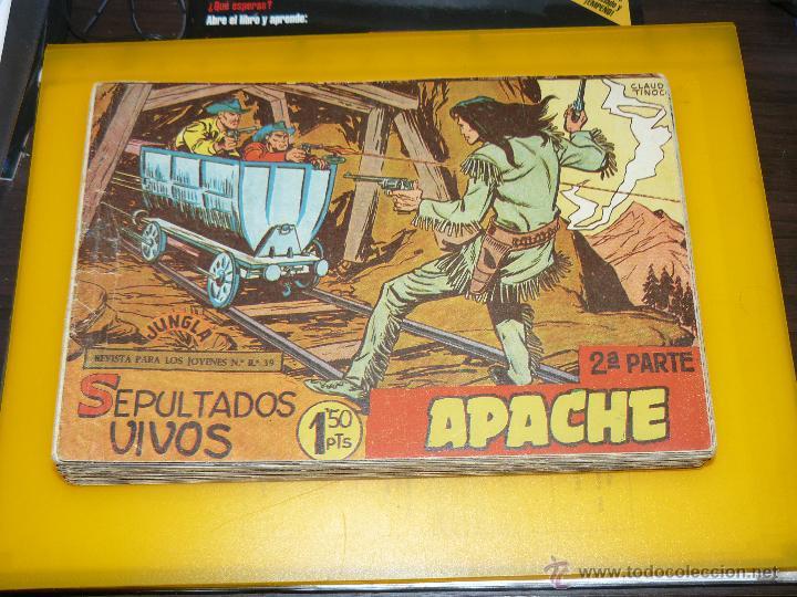 Tebeos: TEBEOS-COMICS GOYO - APACHE - 2ª SERIE - COMPLETA - CLAUDIO TINOCO **BB99 - Foto 2 - 44621721