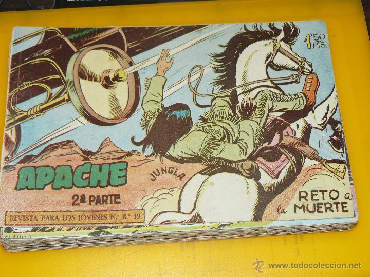 Tebeos: TEBEOS-COMICS GOYO - APACHE - 2ª SERIE - COMPLETA - CLAUDIO TINOCO **BB99 - Foto 6 - 44621721