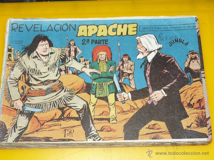 Tebeos: TEBEOS-COMICS GOYO - APACHE - 2ª SERIE - COMPLETA - CLAUDIO TINOCO **BB99 - Foto 10 - 44621721