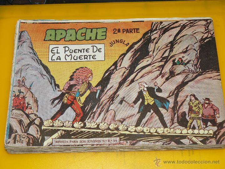 Tebeos: TEBEOS-COMICS GOYO - APACHE - 2ª SERIE - COMPLETA - CLAUDIO TINOCO **BB99 - Foto 11 - 44621721
