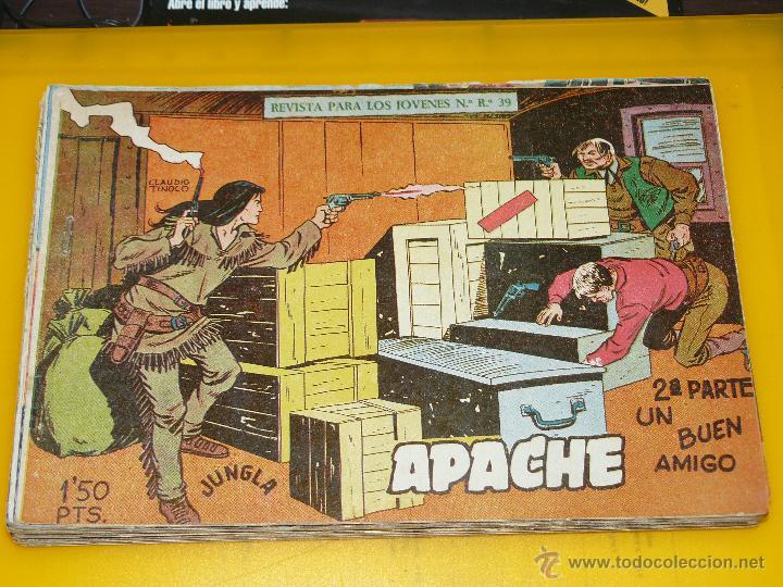 Tebeos: TEBEOS-COMICS GOYO - APACHE - 2ª SERIE - COMPLETA - CLAUDIO TINOCO **BB99 - Foto 15 - 44621721