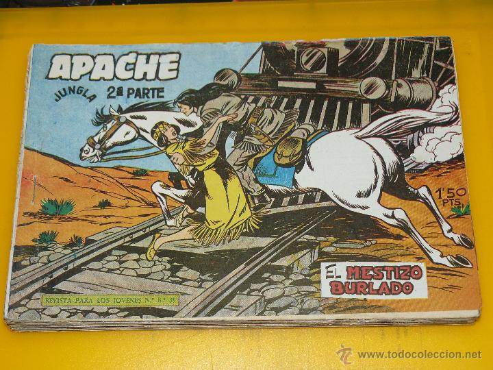 Tebeos: TEBEOS-COMICS GOYO - APACHE - 2ª SERIE - COMPLETA - CLAUDIO TINOCO **BB99 - Foto 16 - 44621721