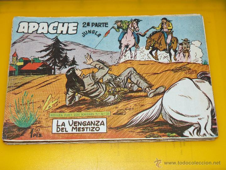 Tebeos: TEBEOS-COMICS GOYO - APACHE - 2ª SERIE - COMPLETA - CLAUDIO TINOCO **BB99 - Foto 17 - 44621721