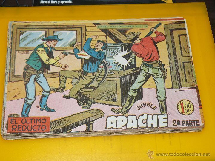 Tebeos: TEBEOS-COMICS GOYO - APACHE - 2ª SERIE - COMPLETA - CLAUDIO TINOCO **BB99 - Foto 18 - 44621721