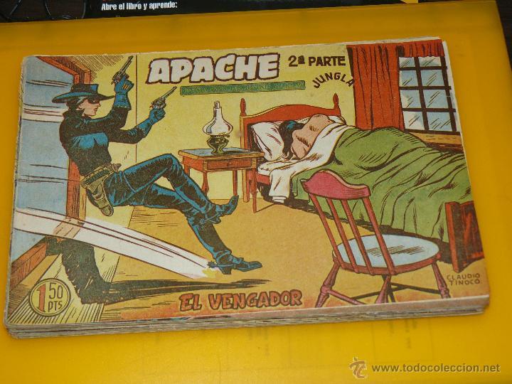 Tebeos: TEBEOS-COMICS GOYO - APACHE - 2ª SERIE - COMPLETA - CLAUDIO TINOCO **BB99 - Foto 19 - 44621721