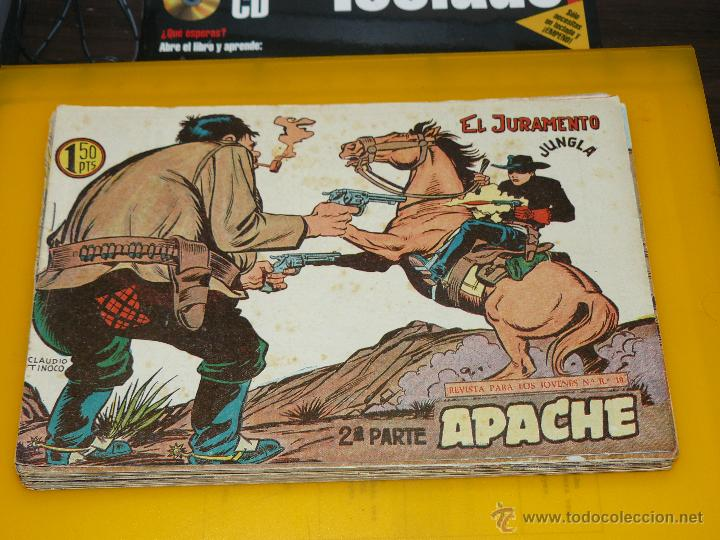 Tebeos: TEBEOS-COMICS GOYO - APACHE - 2ª SERIE - COMPLETA - CLAUDIO TINOCO **BB99 - Foto 20 - 44621721