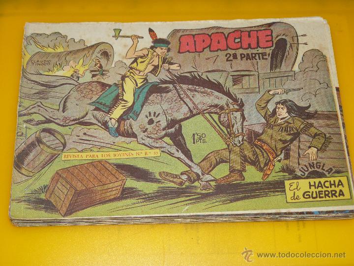 Tebeos: TEBEOS-COMICS GOYO - APACHE - 2ª SERIE - COMPLETA - CLAUDIO TINOCO **BB99 - Foto 22 - 44621721