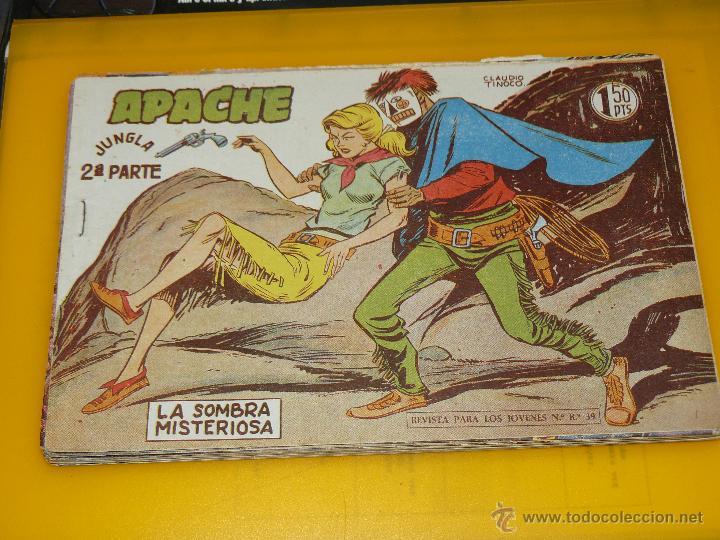 Tebeos: TEBEOS-COMICS GOYO - APACHE - 2ª SERIE - COMPLETA - CLAUDIO TINOCO **BB99 - Foto 26 - 44621721