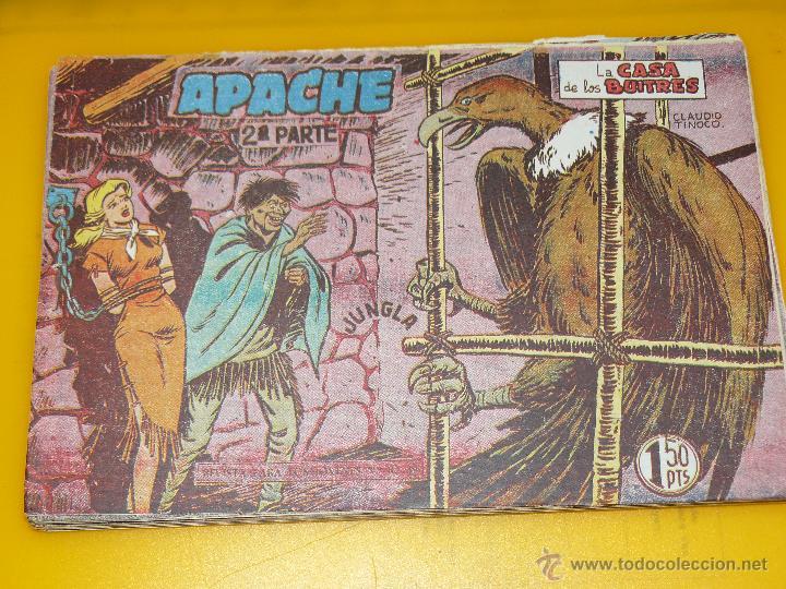 Tebeos: TEBEOS-COMICS GOYO - APACHE - 2ª SERIE - COMPLETA - CLAUDIO TINOCO **BB99 - Foto 27 - 44621721