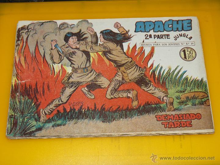 Tebeos: TEBEOS-COMICS GOYO - APACHE - 2ª SERIE - COMPLETA - CLAUDIO TINOCO **BB99 - Foto 29 - 44621721