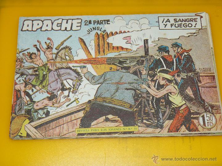 Tebeos: TEBEOS-COMICS GOYO - APACHE - 2ª SERIE - COMPLETA - CLAUDIO TINOCO **BB99 - Foto 34 - 44621721