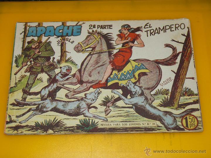 Tebeos: TEBEOS-COMICS GOYO - APACHE - 2ª SERIE - COMPLETA - CLAUDIO TINOCO **BB99 - Foto 36 - 44621721