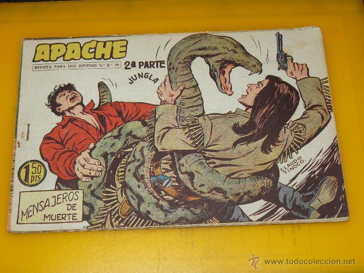 Tebeos: TEBEOS-COMICS GOYO - APACHE - 2ª SERIE - COMPLETA - CLAUDIO TINOCO **BB99 - Foto 37 - 44621721