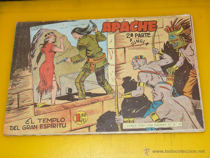 Tebeos: TEBEOS-COMICS GOYO - APACHE - 2ª SERIE - COMPLETA - CLAUDIO TINOCO **BB99 - Foto 38 - 44621721