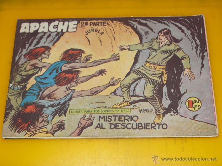 Tebeos: TEBEOS-COMICS GOYO - APACHE - 2ª SERIE - COMPLETA - CLAUDIO TINOCO **BB99 - Foto 39 - 44621721