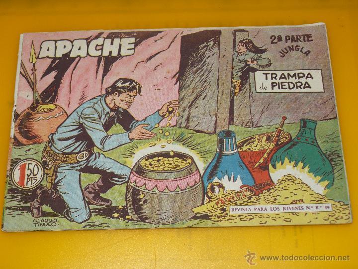 Tebeos: TEBEOS-COMICS GOYO - APACHE - 2ª SERIE - COMPLETA - CLAUDIO TINOCO **BB99 - Foto 40 - 44621721