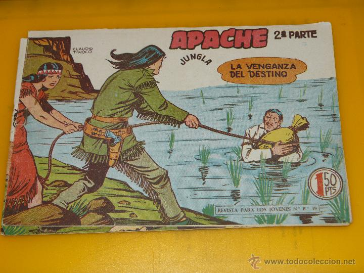 Tebeos: TEBEOS-COMICS GOYO - APACHE - 2ª SERIE - COMPLETA - CLAUDIO TINOCO **BB99 - Foto 41 - 44621721