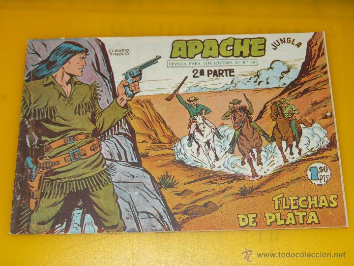 Tebeos: TEBEOS-COMICS GOYO - APACHE - 2ª SERIE - COMPLETA - CLAUDIO TINOCO **BB99 - Foto 45 - 44621721