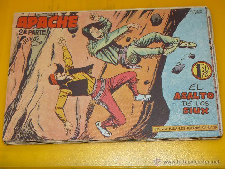 Tebeos: TEBEOS-COMICS GOYO - APACHE - 2ª SERIE - COMPLETA - CLAUDIO TINOCO **BB99 - Foto 47 - 44621721