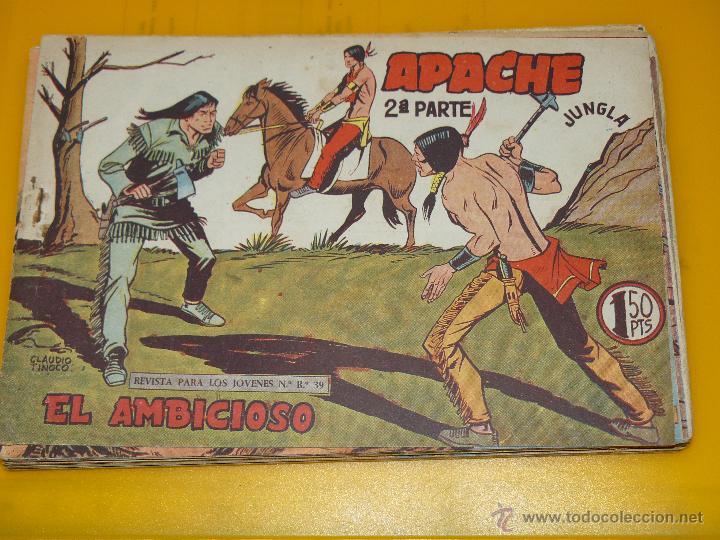 Tebeos: TEBEOS-COMICS GOYO - APACHE - 2ª SERIE - COMPLETA - CLAUDIO TINOCO **BB99 - Foto 48 - 44621721