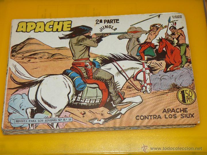 Tebeos: TEBEOS-COMICS GOYO - APACHE - 2ª SERIE - COMPLETA - CLAUDIO TINOCO **BB99 - Foto 50 - 44621721