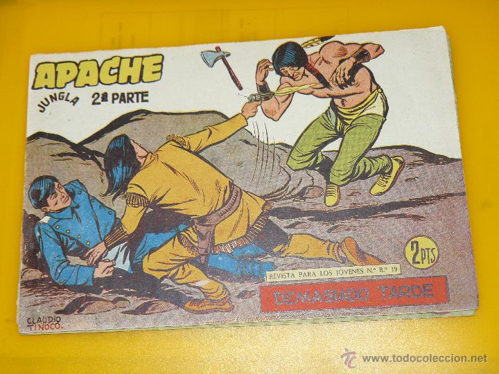 Tebeos: TEBEOS-COMICS GOYO - APACHE - 2ª SERIE - COMPLETA - CLAUDIO TINOCO **BB99 - Foto 51 - 44621721