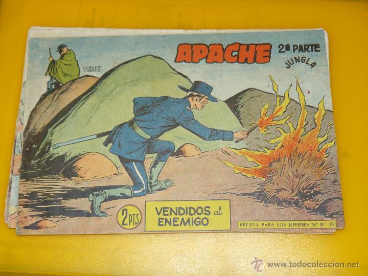 Tebeos: TEBEOS-COMICS GOYO - APACHE - 2ª SERIE - COMPLETA - CLAUDIO TINOCO **BB99 - Foto 55 - 44621721
