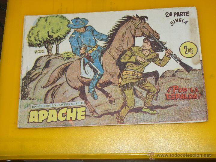 Tebeos: TEBEOS-COMICS GOYO - APACHE - 2ª SERIE - COMPLETA - CLAUDIO TINOCO **BB99 - Foto 56 - 44621721