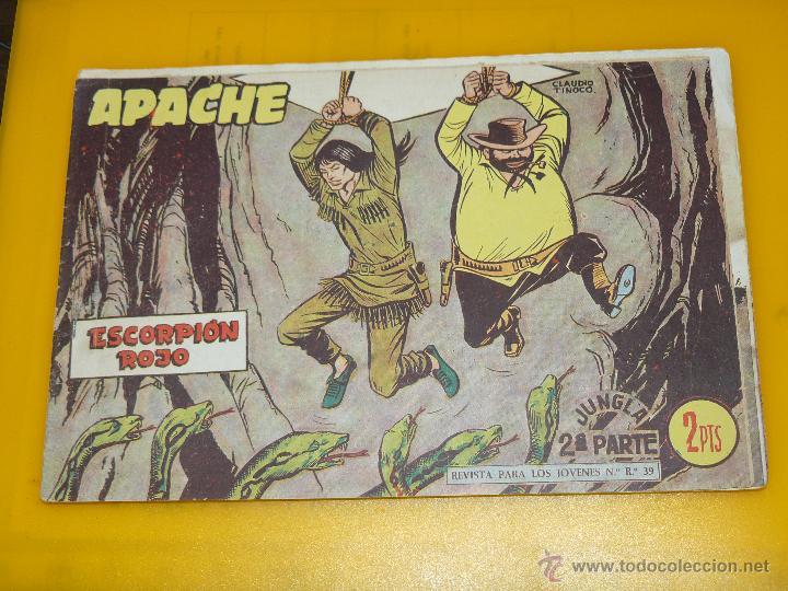 Tebeos: TEBEOS-COMICS GOYO - APACHE - 2ª SERIE - COMPLETA - CLAUDIO TINOCO **BB99 - Foto 58 - 44621721