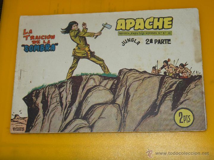 Tebeos: TEBEOS-COMICS GOYO - APACHE - 2ª SERIE - COMPLETA - CLAUDIO TINOCO **BB99 - Foto 59 - 44621721
