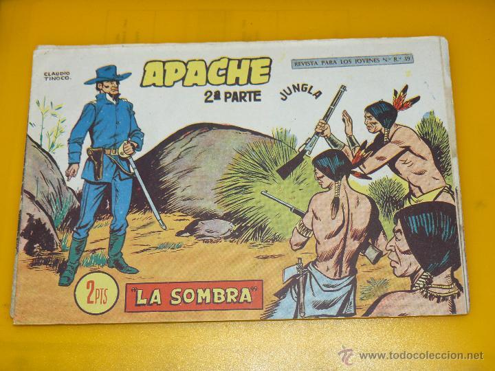 Tebeos: TEBEOS-COMICS GOYO - APACHE - 2ª SERIE - COMPLETA - CLAUDIO TINOCO **BB99 - Foto 60 - 44621721