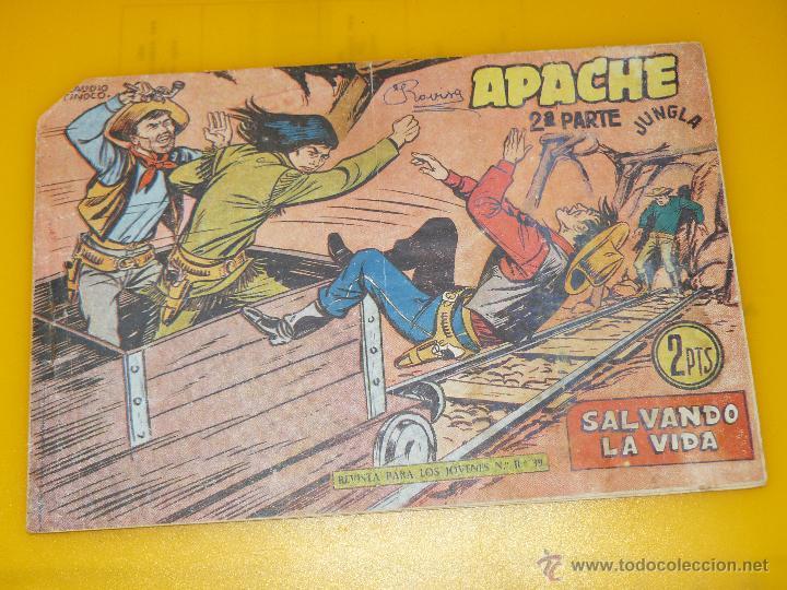 Tebeos: TEBEOS-COMICS GOYO - APACHE - 2ª SERIE - COMPLETA - CLAUDIO TINOCO **BB99 - Foto 62 - 44621721