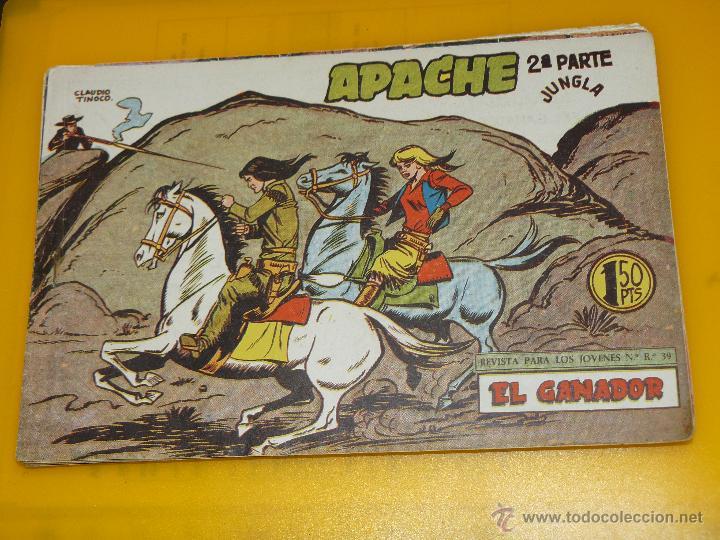 Tebeos: TEBEOS-COMICS GOYO - APACHE - 2ª SERIE - COMPLETA - CLAUDIO TINOCO **BB99 - Foto 64 - 44621721