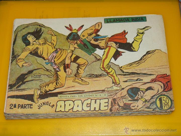 Tebeos: TEBEOS-COMICS GOYO - APACHE - 2ª SERIE - COMPLETA - CLAUDIO TINOCO **BB99 - Foto 66 - 44621721