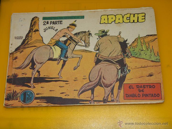 Tebeos: TEBEOS-COMICS GOYO - APACHE - 2ª SERIE - COMPLETA - CLAUDIO TINOCO **BB99 - Foto 68 - 44621721