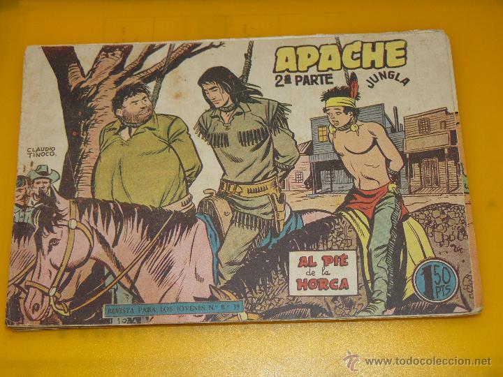 Tebeos: TEBEOS-COMICS GOYO - APACHE - 2ª SERIE - COMPLETA - CLAUDIO TINOCO **BB99 - Foto 69 - 44621721