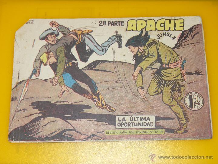 Tebeos: TEBEOS-COMICS GOYO - APACHE - 2ª SERIE - COMPLETA - CLAUDIO TINOCO **BB99 - Foto 70 - 44621721