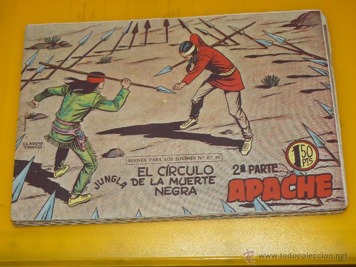 Tebeos: TEBEOS-COMICS GOYO - APACHE - 2ª SERIE - COMPLETA - CLAUDIO TINOCO **BB99 - Foto 73 - 44621721