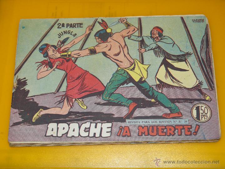 Tebeos: TEBEOS-COMICS GOYO - APACHE - 2ª SERIE - COMPLETA - CLAUDIO TINOCO **BB99 - Foto 74 - 44621721